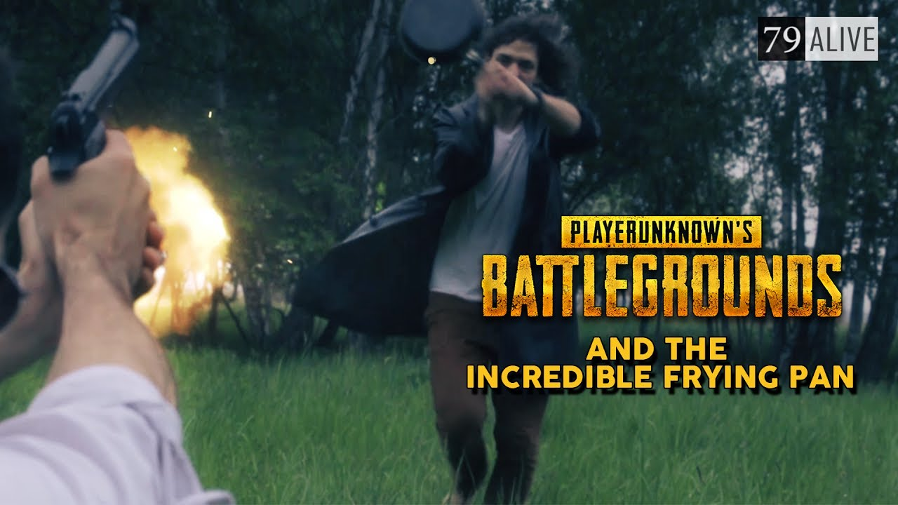 The Incredible Frying Pan - Battlegrounds in Real Life