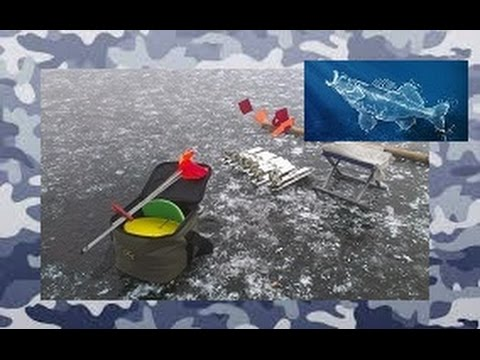 Зимняя рыбалка. Ловля на жерлицы