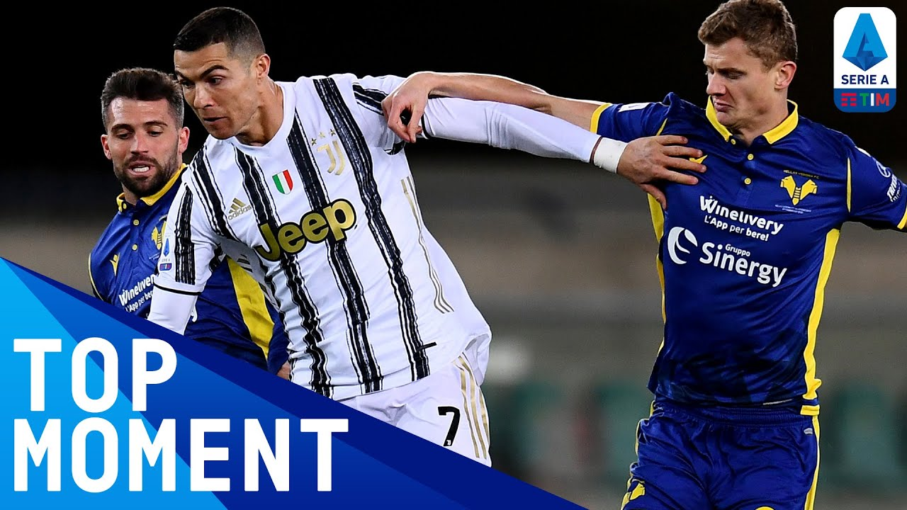 CR7 fires in his 19th goal of the season | Hellas Verona 1-1 Juventus | Top Moment | Serie A TIM