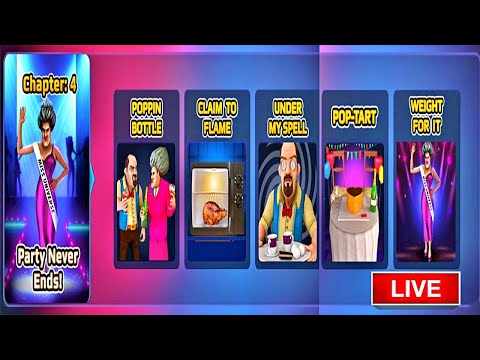 🔴LIVE🔴 Scary Teacher 3D - New Update Chapter 4 Added | Party Never Ends | Gameplay Ios,android