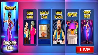 Gambar cover 🔴LIVE🔴 Scary Teacher 3D - New Update Chapter 4 Added | Party Never Ends | Gameplay ios,android
