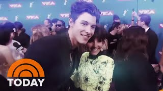 Shawn Mendes & Other Celebrities Chat With TODAY's Style Expert Lilliana Vazquez At The VMAs | TODAY