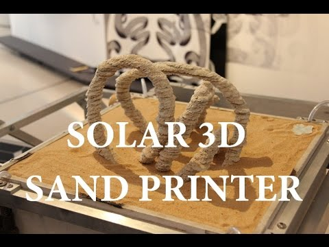 Earth Imagineers Outreach Project: The 3D Solar Sand Printer