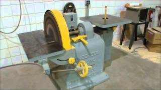 Wysong & Miles Co  Number 303 Combination Disc & Oscillating Spindle Sander