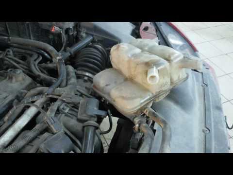 Замена натяжителя цепи форд фокус 2 1 8