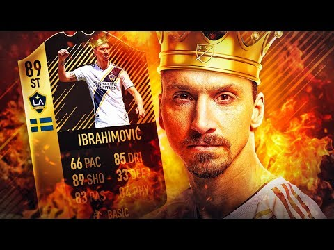 THE RETURN OF THE KING! 89 INFORM ZLATAN IBRAHIMOVIC SQUAD! FIFA 18 ULTIMATE TEAM