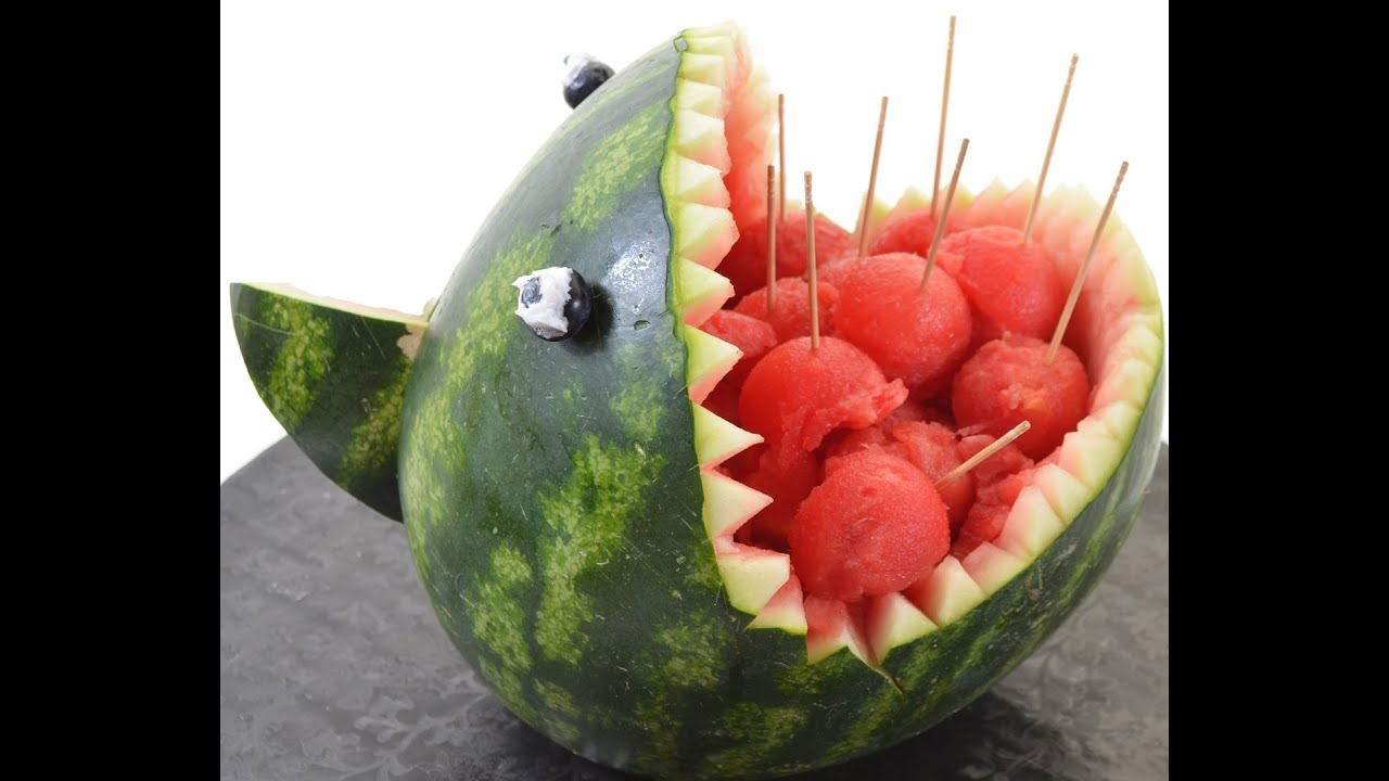 Image gallery scary watermelon