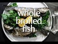 Dinner Party Tonight Holiday Shorts: Whole Broiled Fish