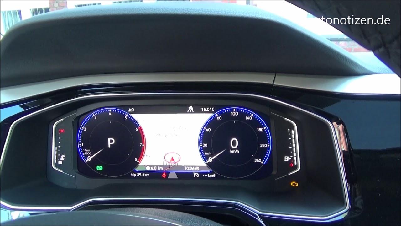 Volkswagen Tiguan 2018 >> Der neue VW Polo mit Active Info Display: Test der Bedienoberfläche - YouTube