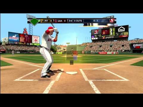 MLB 2k12 *Angels Vs Pirates* Kid Rages Quits