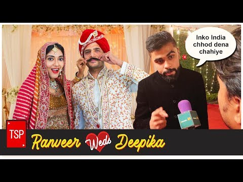 Ranveer weds Deepika | Behind The Scenes | The Screen Patti