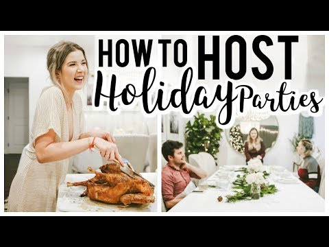 HOW TO HOST: A HOLIDAY DINNER | Meghan Rienks