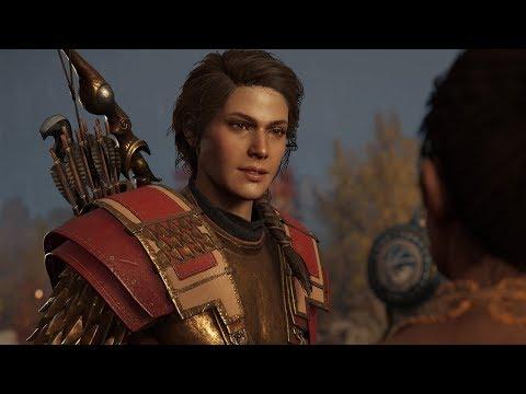 Assassin's Creed Odyssey 4K Gameplay: Sailing, Combat, Horseback Riding, and More