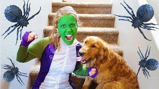 Hulk Girl And Earl Use Pretend Play Magic!