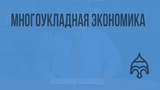 Многоукладная экономика. Видеоурок по истории России 11 класс