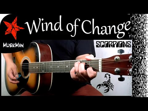 WIND OF CHANGE 🪁  Scorpions 🦂 / GUITAR Cover / MusikMan 159
