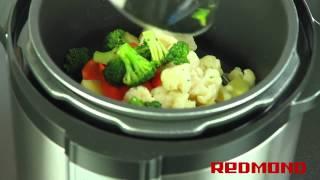 видео Как приготовить брокколи в мультиварке