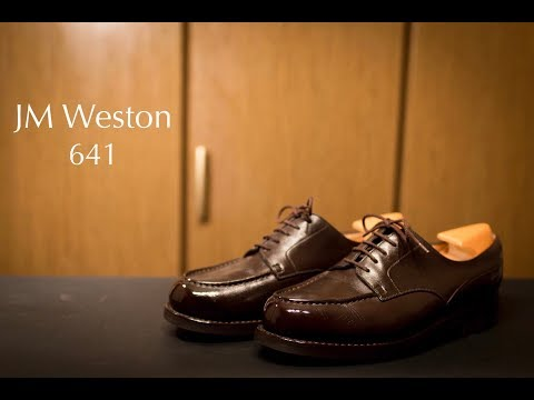 JM WESTON 641 GOLF (Full ver) 靴磨き&靴修理