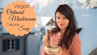 Cream Of Mushroom Soup Recipe - Healthy Dinner Ideas - Vegan Soup Recipes