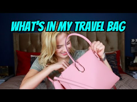 What's In My Travel Bag..s