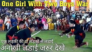 One Girl and Two Boy   Thang Ta Manipuri Martial Arts   Viral Indian Dance 2019   Jamshedpur