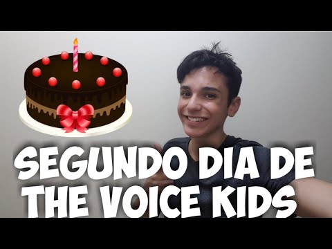 The Voice Kids 2019: Bate papo ao vivo sobre o segundo dia