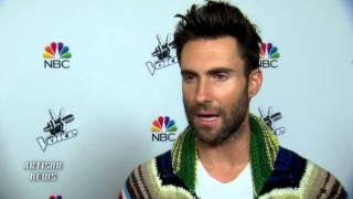 ADAM LEVINE INTERVIEW - NARROWING THE VOICE FINALISTS, BLAKE SHELTON RIVALRY