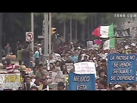 Mass Protests Against Mexican Election Results
