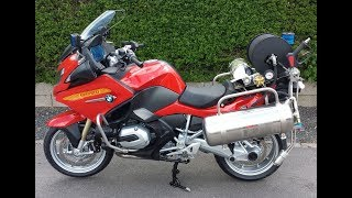 R1200RT Firexpress - The Ultimate Firefighting Motorcycle