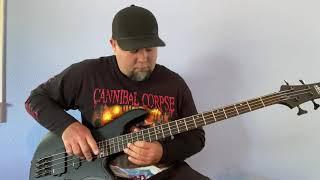 Technical Death Metal Bass(Schecter Stiletto Stealth)