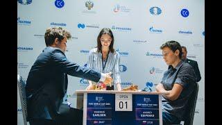 Карлсен Есипенко Гунина Костенюк Кубок мира 5 й этап