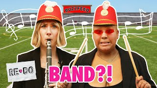 Adults Learned To Play High School Band Instruments For A Week • Re-Do