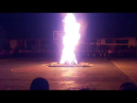 Detik-detik penyalaan api unggun..!!! Amazing,,mantap jiwa