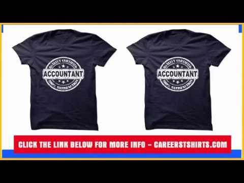 Accountant Badge Certified T Shirt & Hoodie