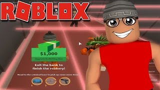 ROBLOX-The Perfect bank robbery (Jailbreak)