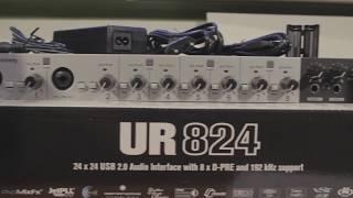 Steinberg ur824 - Ultimate cubase recording pack - szybka recenzja