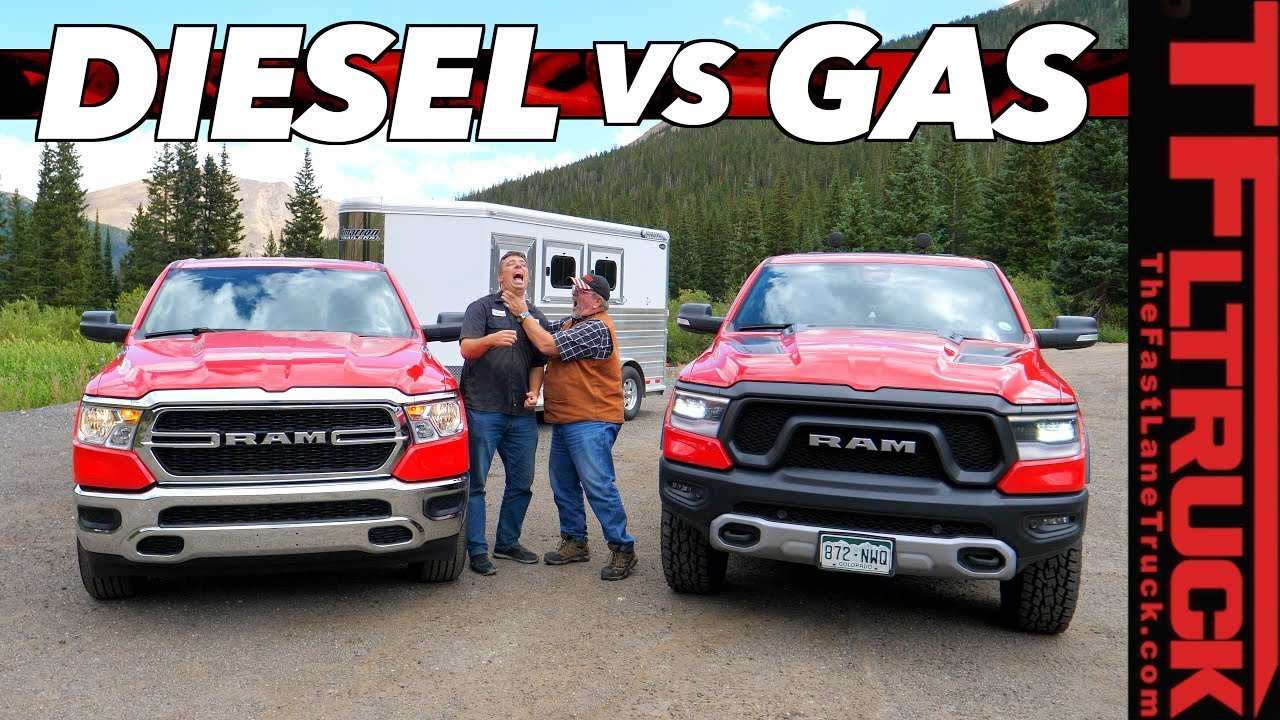 Can The 2020 Ram Ecodiesel Out Tow The Mighty Hemi On The World S Toughest Towing Test Ike Gauntlet