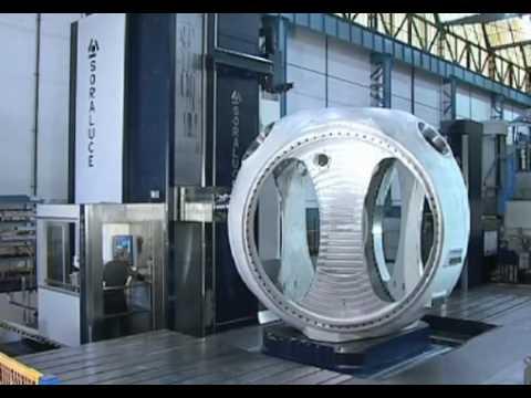 Wind Turbines:  DANOBATGROUP - manufacturing the key components of a wind turbine