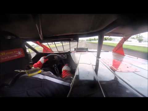Norman County Raceway Heat Race #1 Sportmods 8/16/14