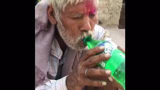 Thirsty man vs water | don't ignore |