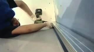 видео Профиль для гипсокартона в современном строительстве