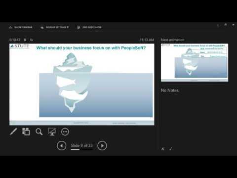 Webinar on Deploy PeopleSoft on Cloud- 20 May, 2016