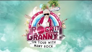 ROCK IT GRANNY ! Teaser - On tour with Mamy Rock