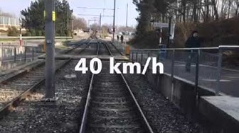 Métro TL M1 Lausanne ( trajet Renens-Flon)