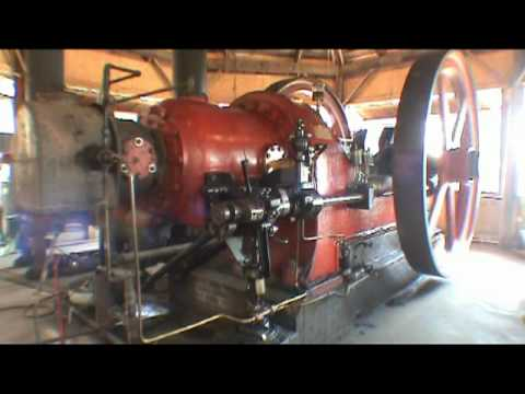 20,175 Cubic Inch Single Cylinder Engine - Running