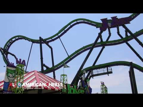 The Joker @ Six Flags Great Adventure Press Preview In HD