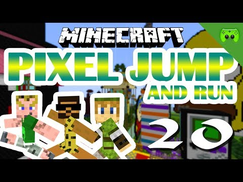 MINECRAFT Adventure Map # 20 - Pixel Jump & Run «» Let's Play Minecraft Together | HD