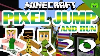 MINECRAFT Adventure Map # 20 - Pixel Jump & Run «» Let