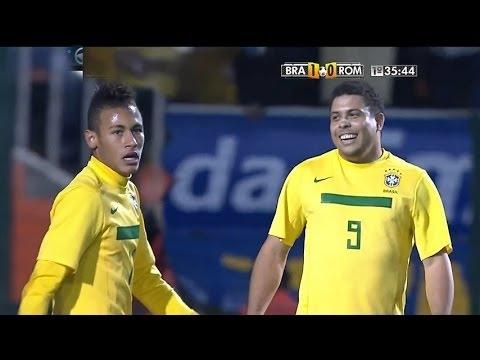 O dia que Neymar Ofuscou Ronaldo Fenômeno na Seleção Brasileira Inesquecível Para o Futebol