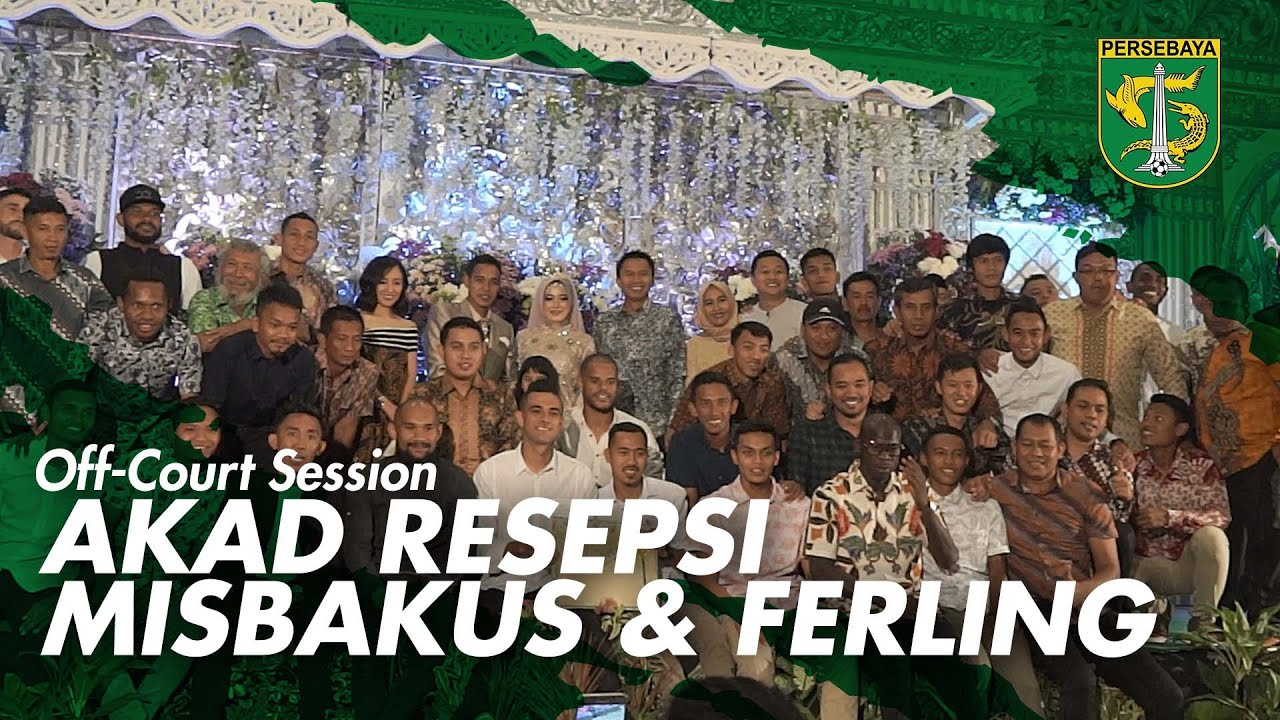 Off-Field Session | Akad nikahan Misbakus dan ferling 2